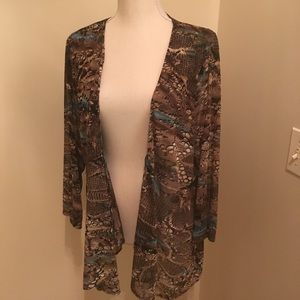 Other - Reptile print cardigan